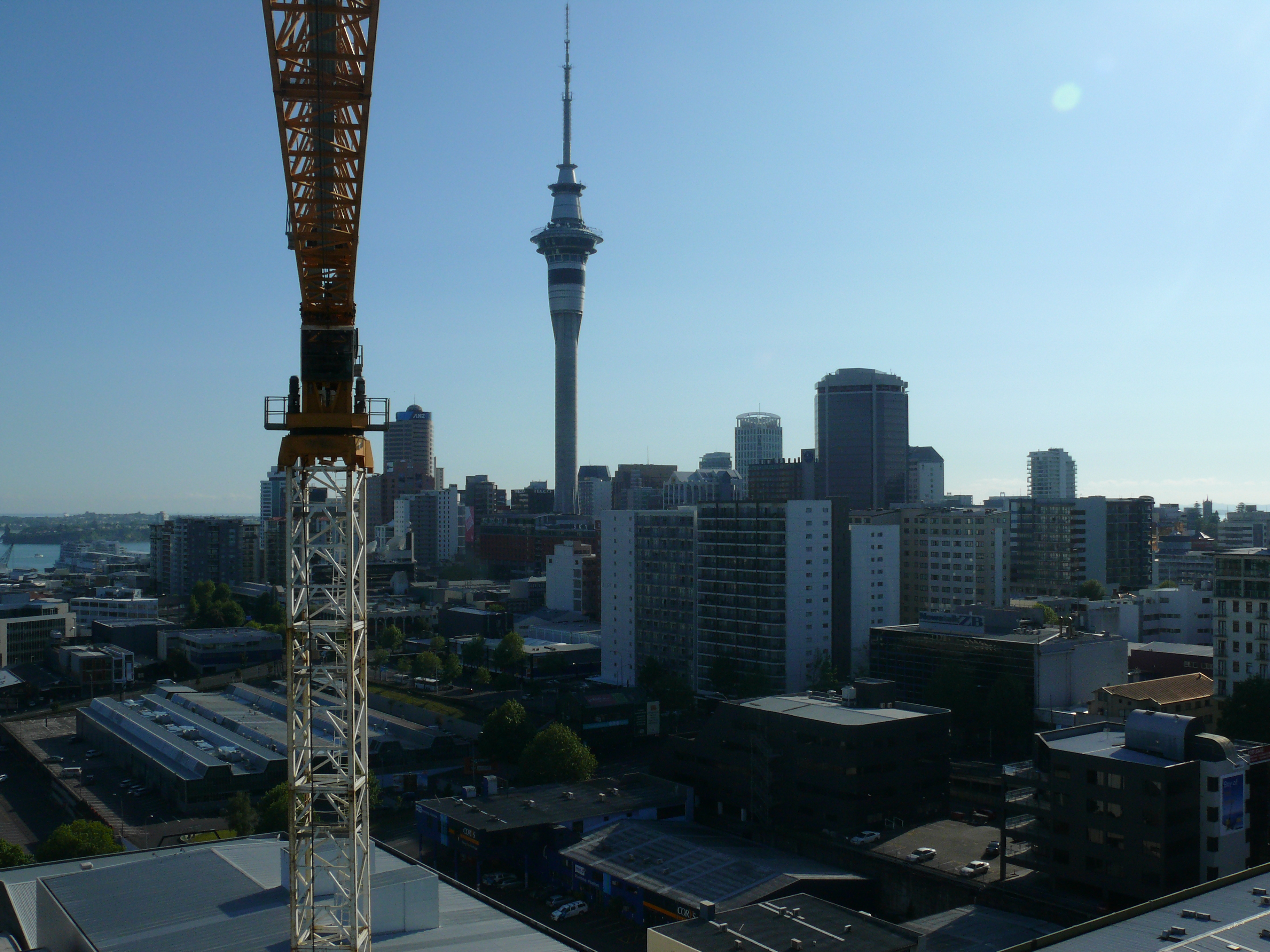 Earthtec Auckland city Skytower