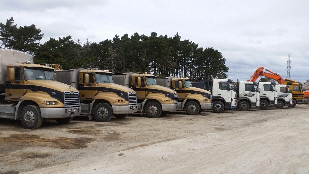 Reliable trucks of Earthtec