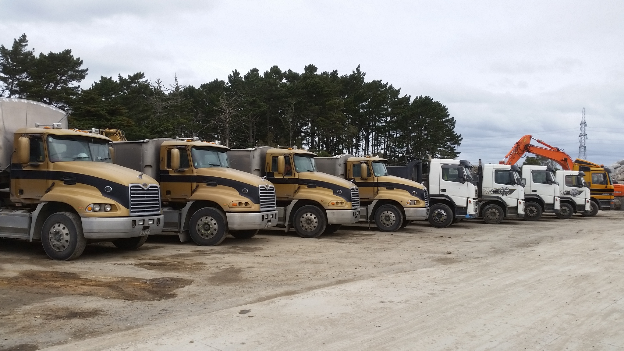 Reliable trucks of Earthtec
